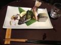 岩魚 木の芽味噌焼き@琵琶湖ホテル おおみ ○
