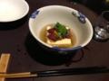 鯛の子豆腐@琵琶湖ホテル おおみ