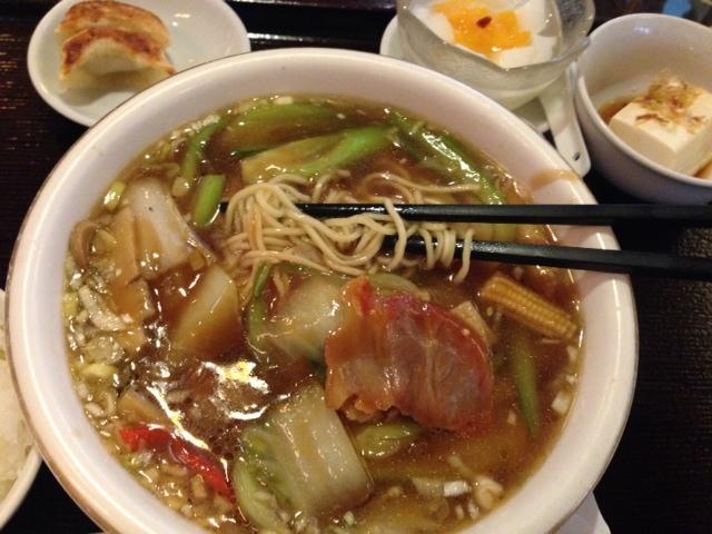 五目湯麺@心斎橋  香港海鮮飲茶樓