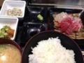 本日の刺身定食@長堀橋 漁船団