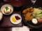 カキフライ定食@京とんちん亭
