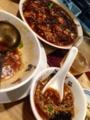 麻婆豆腐と酸辣湯@北白川 駱駝