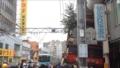 商店街に入る曳山@大津祭