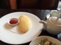 朝食のオムレツ@本町 south paradise cafe ○
