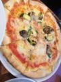いろいろ野菜のピッツァ@琵琶湖ホテル ベルラーゴ