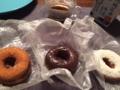 あんドーナツ、チョコ、ココナツ@まえだのドーナツ