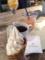 ソフトクリーム、コーヒー@天王寺 スプーンビル