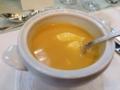 南瓜のクリームスープ ロイヤル風@北山倶楽部