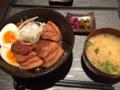 角煮丼@東心斎橋 黒蜜