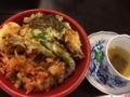 野菜天丼@どんぶり名人