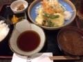 天ぷら定食@島之内 天下の台所 魚仁