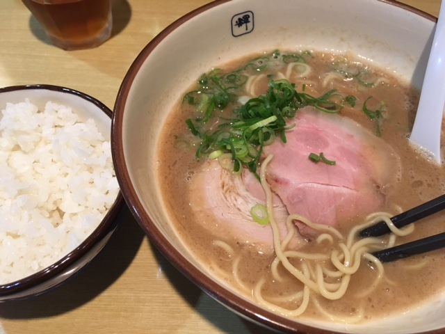 ラーメン@長堀橋 麺や輝