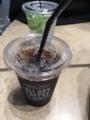 アイスコーヒー@グランフロント大阪 オールデイコーヒー