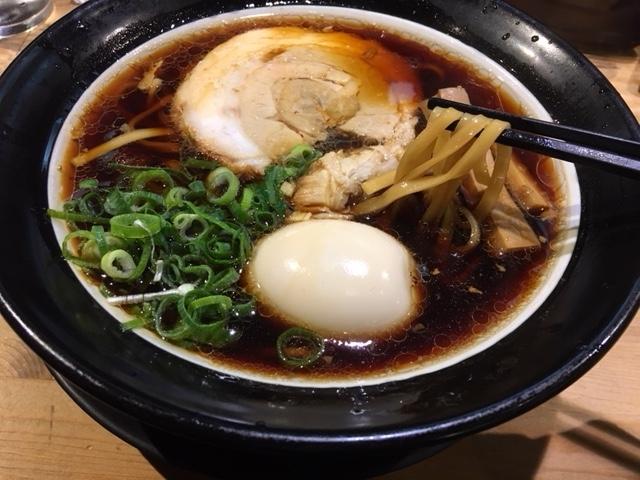 大阪ブラック 太麺@道頓堀 金久右衛門