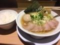 塩ラーメン@北新地 麺や マルショウ