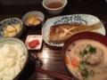 粕汁定食@長堀橋 あゆの家