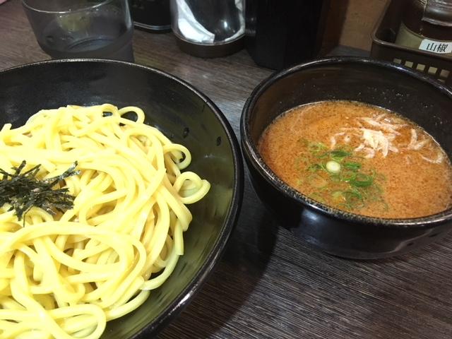 海老中華つけ麺@麺屋 マル佐