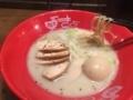 鶏白湯ラーメン@心斎橋 麺屋きくち