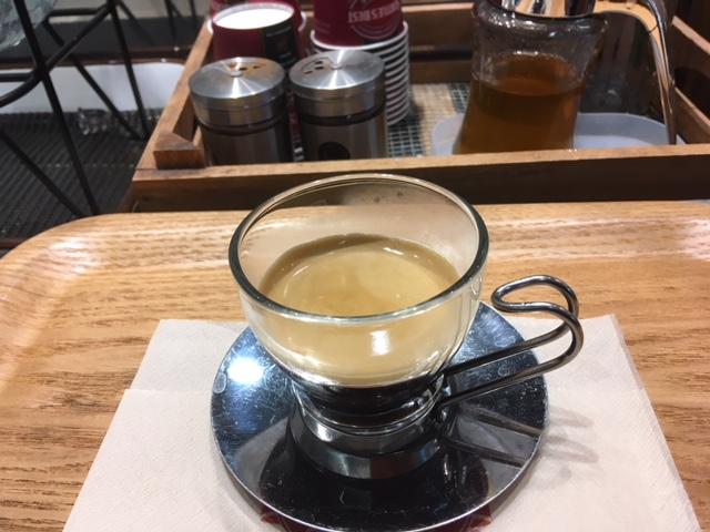 エスプレッソ@鹿児島中央駅 シアトルズベストコーヒー