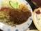トンカツと野菜炒め@長堀橋 ファースト