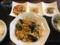 卵とキクラゲと豚肉の炒め物@島ノ内 逸香園