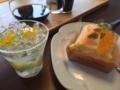 クレープのケーキと七夕のゼリー@バイカル 山科店