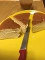 りくろーおじさんのチーズケーキ(2日目)