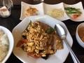 卵と豚肉の炒め物@島之内 逸香園