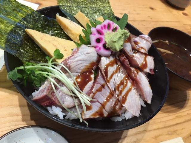 炙り鰤丼@ときすし 心斎橋店