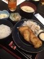 天然魚のフライ@長堀橋  鯛平
