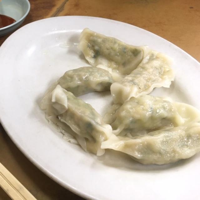 茹で餃子@東山三条 マルシン飯店