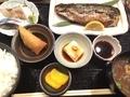焼き魚定食@長堀橋 かわはち屋