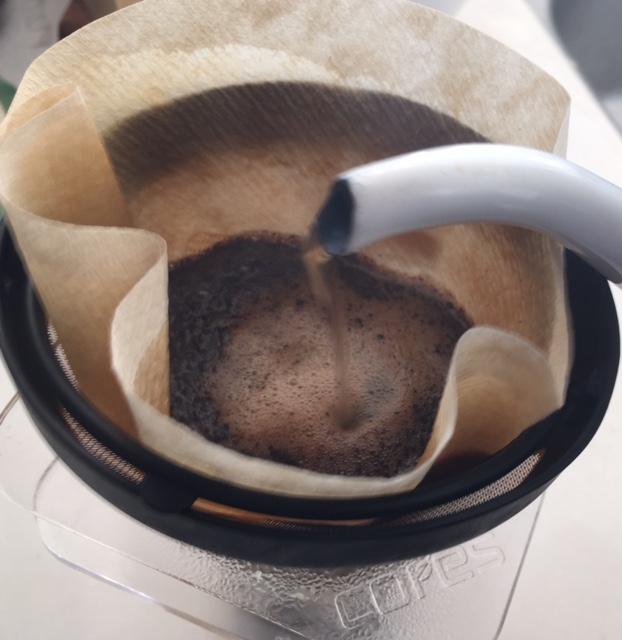 大津市「天衣無縫」で購入したカフェインレスコーヒー