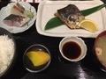 焼き魚定食(さわら)@長堀橋 かわはち屋