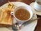 彩り野菜と大麦のスープモーニング@ロイヤルホスト