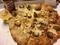 よくばりミートと濃厚チーズのクォーターズ @シカゴピザ