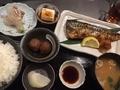 日替わり焼き魚定食(鯖)@長堀橋 かわはち屋