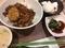 ルーローハン、杏仁豆腐など@オーミー大津 台湾食味