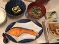 鮭塩焼定食@心斎橋 食彩 のぐち