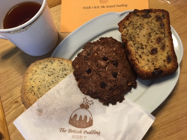 ビスケット、ケーキ@the British pudding(砂古玉緒さん)