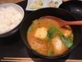 オマール海老の合わせ味噌汁