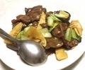 牛肉のオイスターソース炒め@ 浜大津 あたか飯店