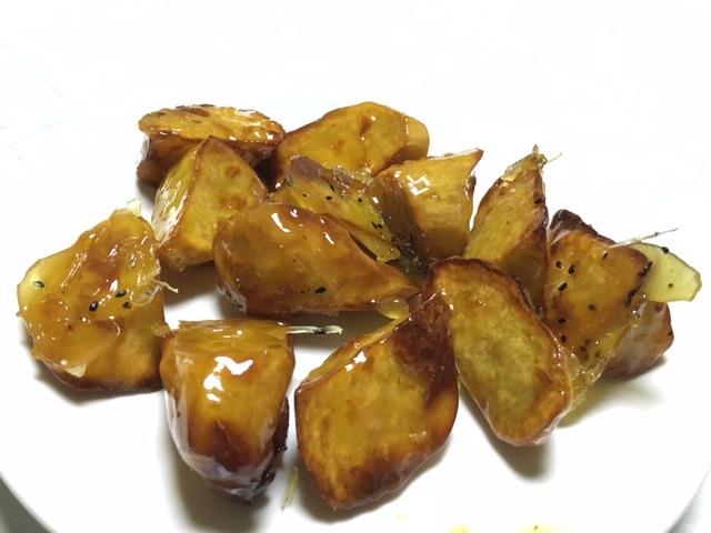 サツマイモの飴煮@ 浜大津 あたか飯店