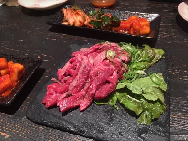 牛肉のタタキ@南船場 御肉