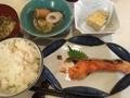 焼き鮭定食@心斎橋 食彩 のぐち