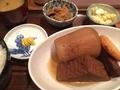 おでん定食@長堀橋 あゆの家