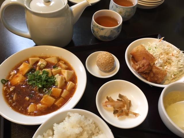 麻婆豆腐定食@好香再来 趙さんのお店