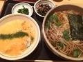 日替わり(とろろご飯、蕎麦)@長堀橋 てらうち