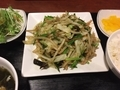 野菜炒め@島之内 艶家