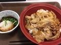 豚生姜焼き丼@すき家